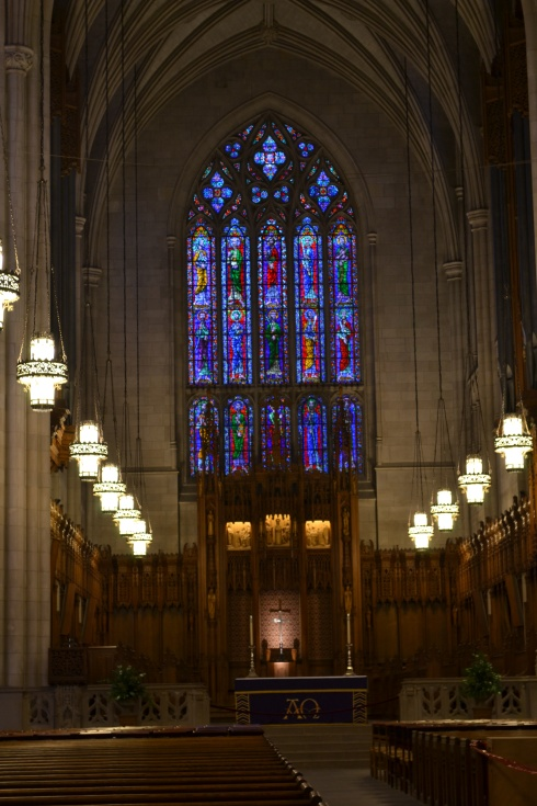 inside the Duke Chapel